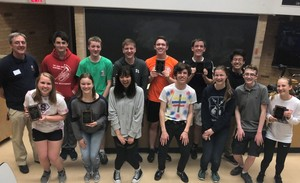 ChemTeam 2nd at EIU Maurice Shepherd Chemistry Contest