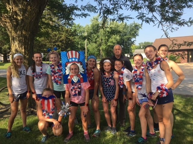 MSHS Girls CC 4th of July Scavenger Hunt