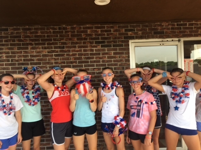 Happy 4th from MSHS Girls CC