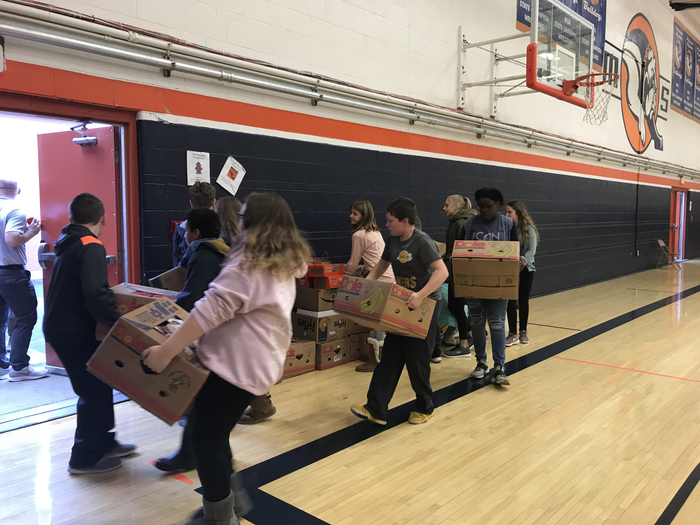6th grade can drive donations