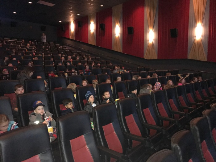 Kindergarten at the movies