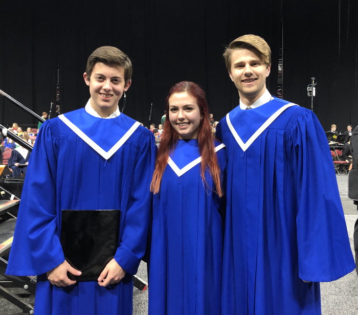 Kyle Kinnamon, Megan Bostaph & Justin Smith