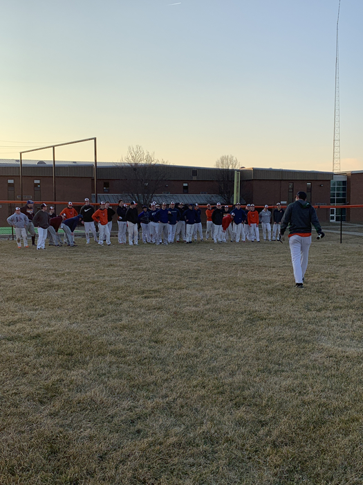 Baseball got outside during week one!!