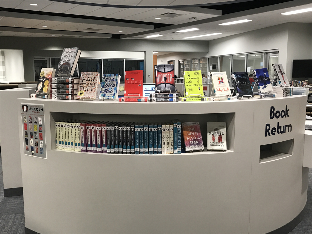 Photo of book display