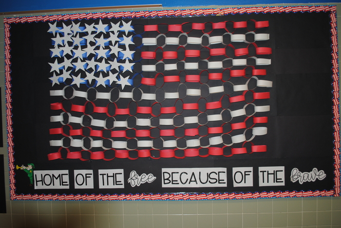 Display for Veteran's Day