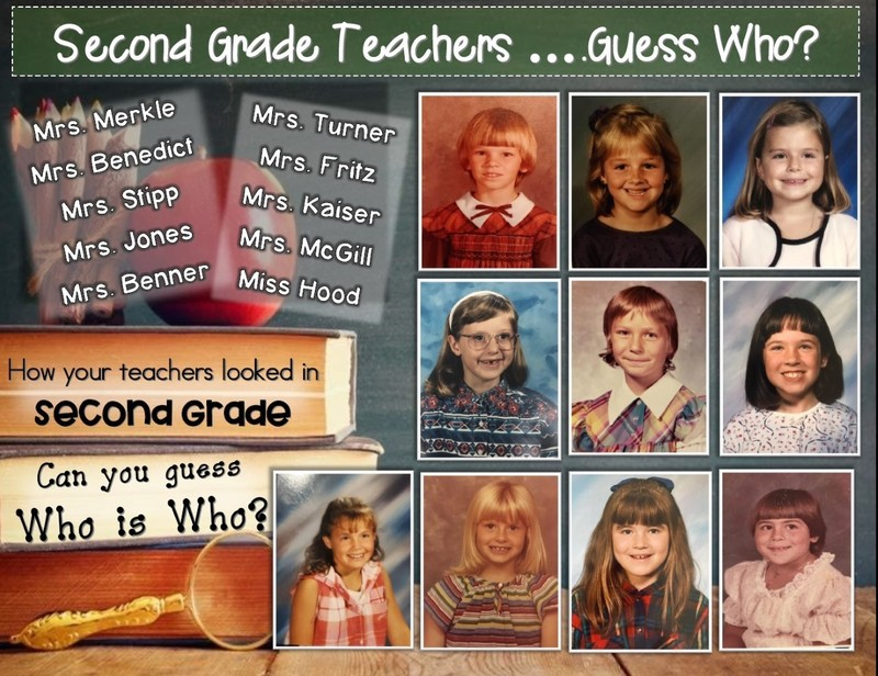 2nd Grade Teachers as 2nd Grade Students